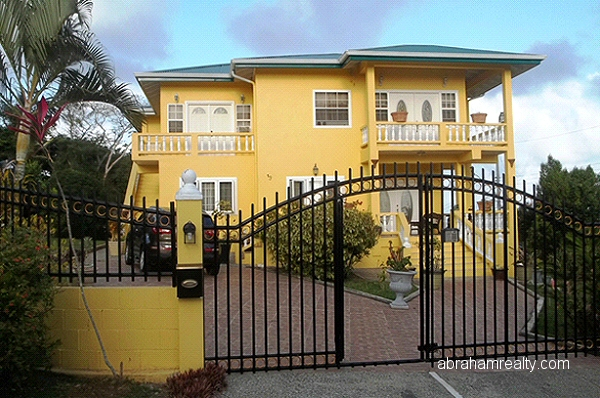 Abraham Tobago Realty Homes For Sale Concordia